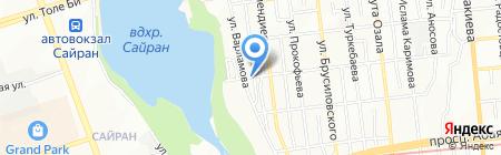 Мурат продуктовый магазин на карте Алматы