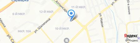 Z Club на карте Алматы