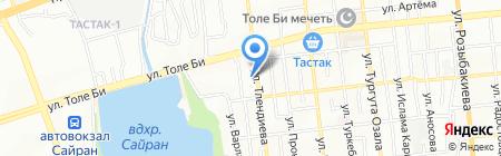 NGS+ на карте Алматы