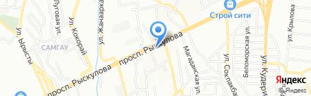 Fasad на карте Алматы
