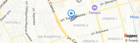 Жамиля салон красоты на карте Алматы