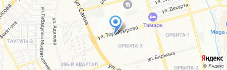 31-А на карте Алматы