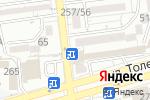 Схема проезда до компании Аян в Алматы