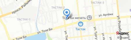 Temirauto на карте Алматы