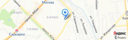 Касымхан на карте Алматы