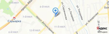 Автогаджет на карте Алматы