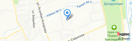 Private Clinic Almaty на карте Алматы