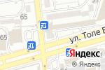Схема проезда до компании Бухта в Алматы