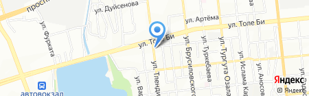 Tulpar на карте Алматы