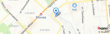 BAZA-V на карте Алматы
