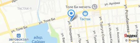 Алматы Казэлектрокабель на карте Алматы