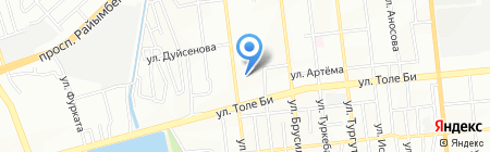 Здоровье+ на карте Алматы