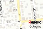 Схема проезда до компании Auto Lab в Алматы