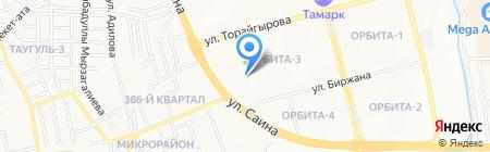 Продовольственный магазин №2 на карте Алматы