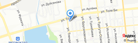 CMC на карте Алматы