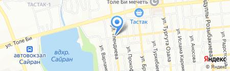 Ай Жулдыз Курылыс на карте Алматы