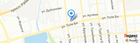 Tour key туроператор на карте Алматы