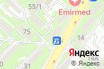 Схема проезда до компании Наз в Алматы
