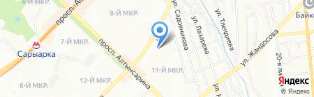 Центр развития систем менеджмента на карте Алматы