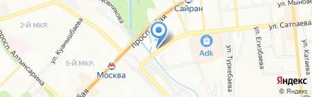 UniMotors на карте Алматы