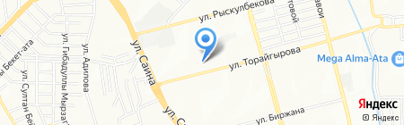 Аурика на карте Алматы