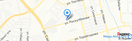 МБК Курылыс на карте Алматы