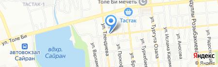Магазин сантехники на карте Алматы