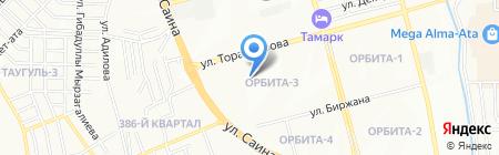 Ак-Жол на карте Алматы