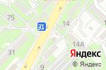 Схема проезда до компании Расвет в Алматы