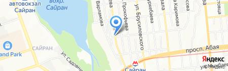 Наз-Али на карте Алматы