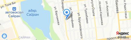 Rime Stage на карте Алматы