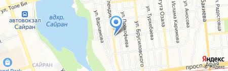 Гаухар продовольственный магазин на карте Алматы