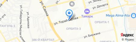Доктор Дент на карте Алматы