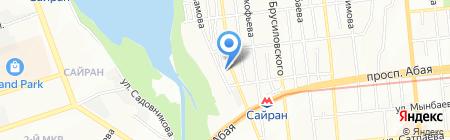 Red Bus Pub на карте Алматы