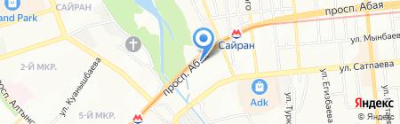 Художественная мастерская Алексея Уткина на карте Алматы