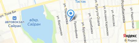 Венсус на карте Алматы