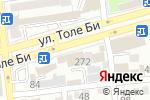 Схема проезда до компании Кумис в Алматы