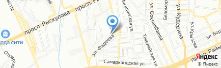 Мой Малыш на карте Алматы