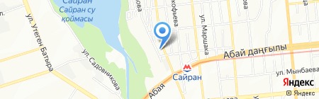 SNG Security на карте Алматы