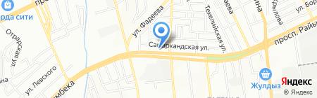 Ак-Кеме 2030 на карте Алматы