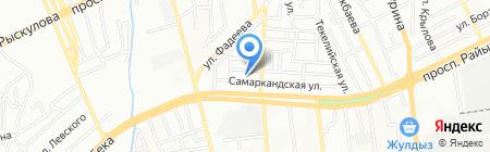 БАК на карте Алматы