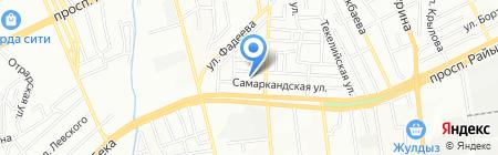 AV-PLAST на карте Алматы