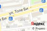 Схема проезда до компании Нурбанк в Алматы