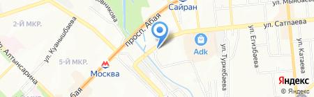 Конкрит Продактс на карте Алматы