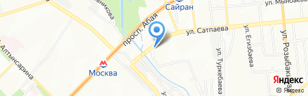 AFS на карте Алматы