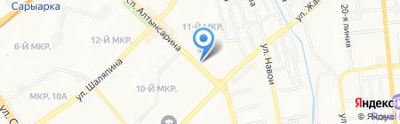 Sevana на карте Алматы