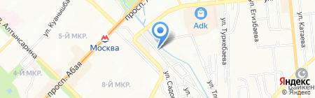 Formula7 на карте Алматы