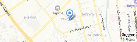 Алматинский государственный гуманитарно-педагогический колледж №2 на карте Алматы