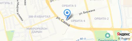 Прачечная на карте Алматы