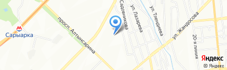 Солимекс на карте Алматы